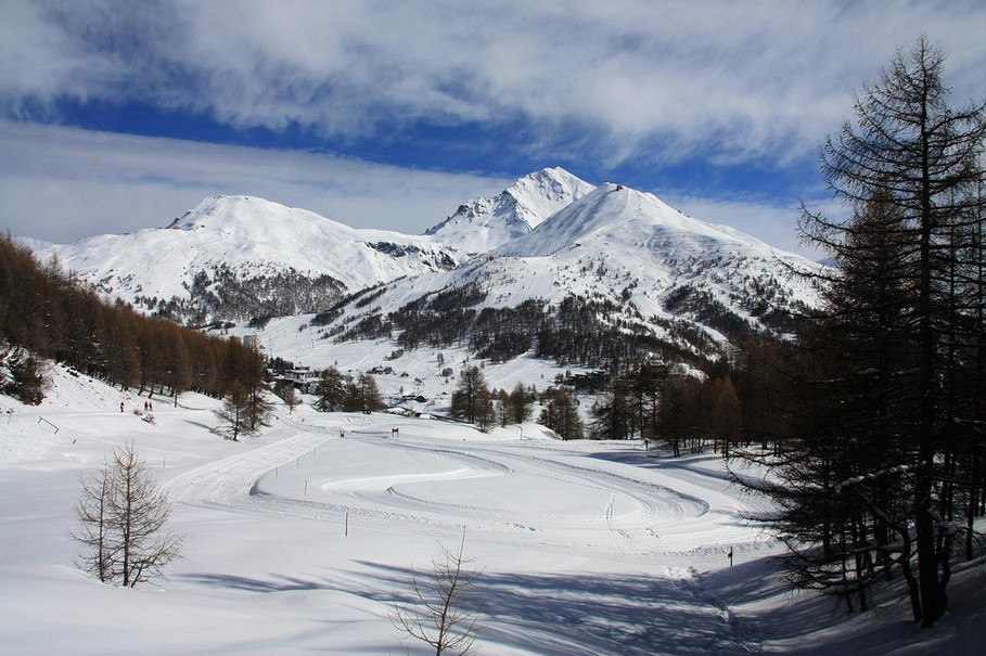 The best places to ski in Europe: Sestriere, Italy. Photo by Raffaele Sergi, Flickr