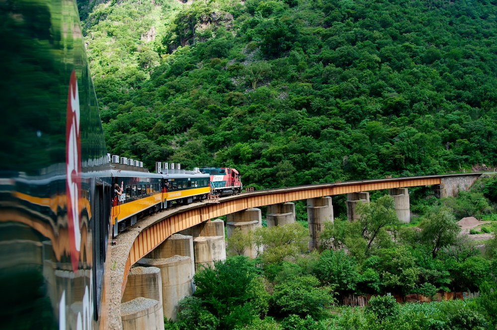 Places to visit in Mexico: The train from Chihuahua City to Copper Canyon. Photo by Ralph Velaso, ralphvelasco.com