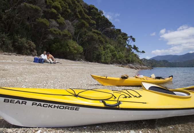 Kayak around the Marlborough Sounds. Photo by lovemarlborough.co.nz