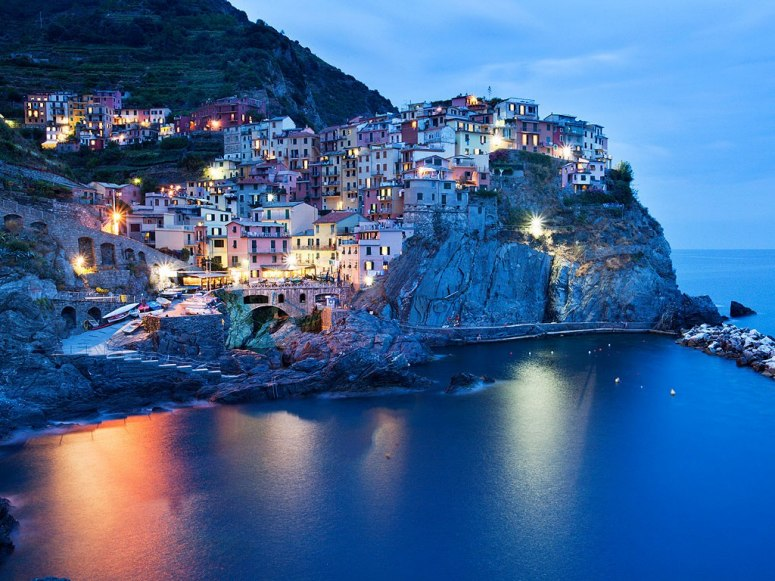 Best beach towns in Italy: Manarola. Photo by Mark Sunderland, news.com
