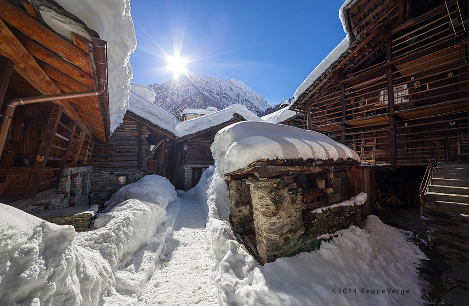 The best places to ski in Europe: Alagna, Italy. Photo by Beppe Verge, Flickr