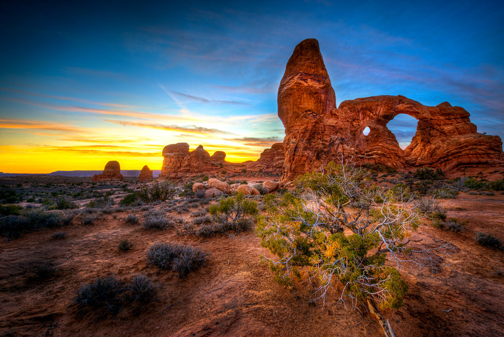 best hiking trails in the US: Arches National Park. Photo by boomsbeat.com
