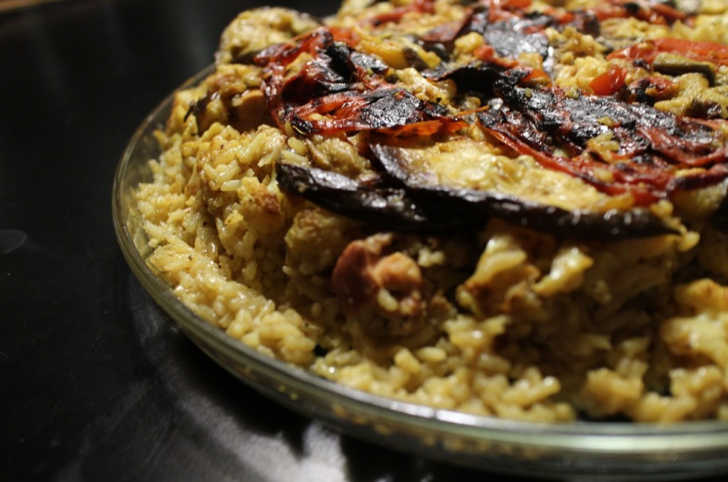 5 of the best foods to eat in Jordan: Maqluba. Photo by 200birdies.file.wordpress.com