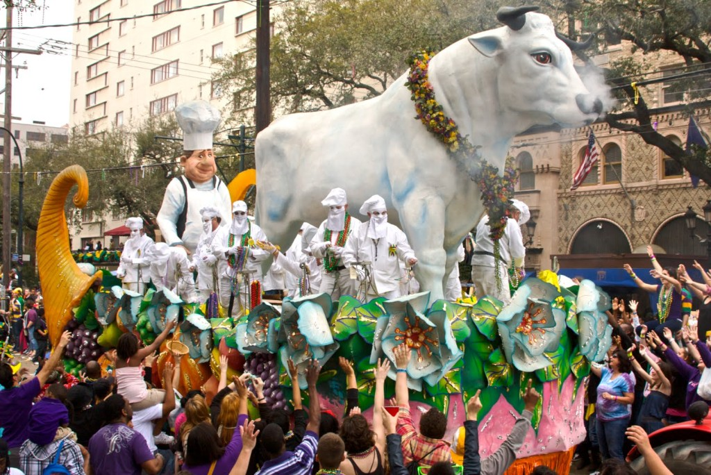 Guide on celebrating Mardi Gras in New Orleans: Rex Parade. Photo by Section 217