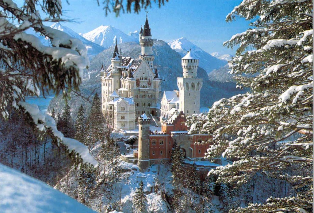 Fairy tale places you should visit: Neuschwanstein Castle, Germany. Image by johngorman.com