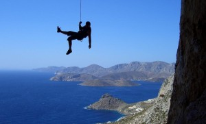 life-changing adventures: Kalymnos is a rock climbers paradise. Photo by alfatango.org