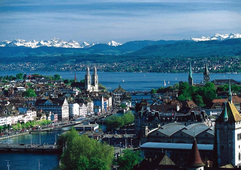 How to hitch hike in Europe: Zurich is another must see destination. Photo by, swissinwhales.org
