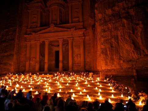 Fairy tale places you should visit: Petra, Jordan. Photo by Bhaven Jani