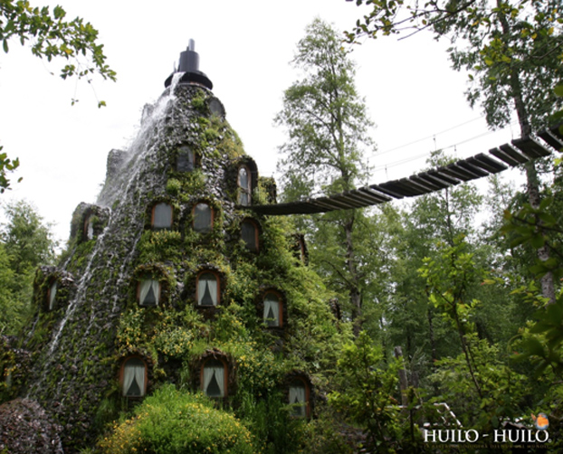 Fairy tale places you should visit: Hotel La Montana Magica, Huilo Chie. Photo by Huilo Huilo