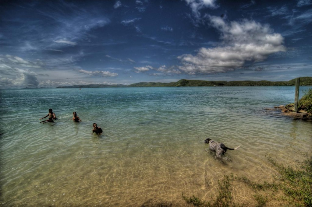 most secretive islands: Swimming at Thursday Island. Photo by ailanpair, flickr