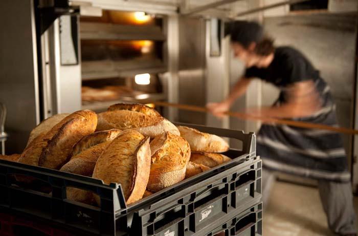 Fresh bread at Bourke Street Bakery. Photo by bourkestreetbakery.com