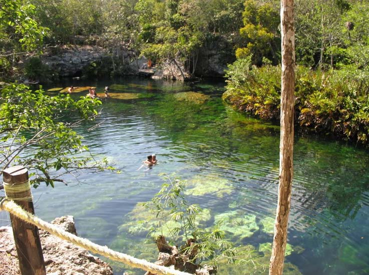 The open air of Cenote Ponderosa. Photo by, playasmexico.com