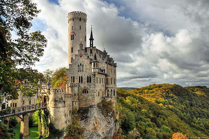 Lichtenstein Castle. Photo via pixels.com