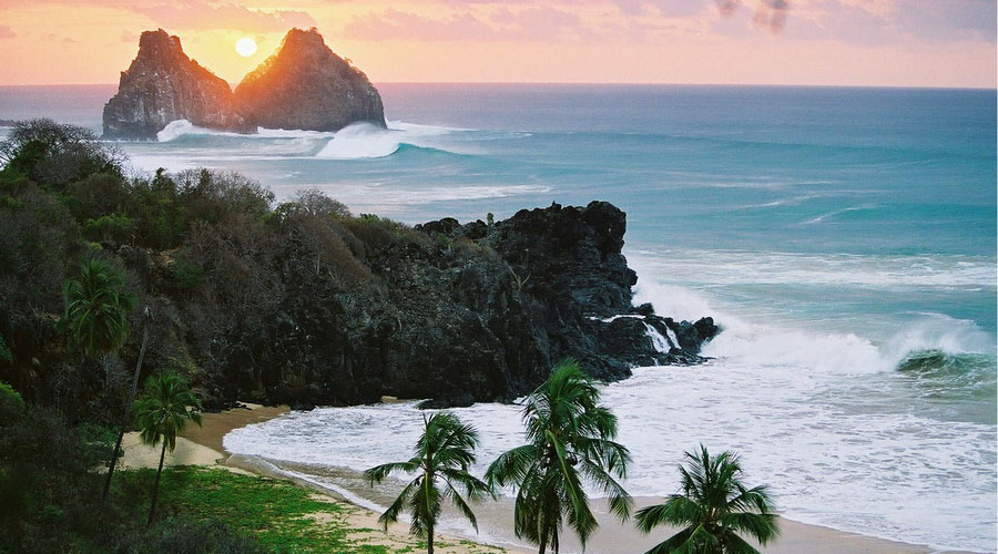 Fernando de Noronha, Brazil. Photo by abeachaday.com