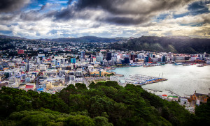 Wellington, New Zealand. Photo by travelphotoadventures.com