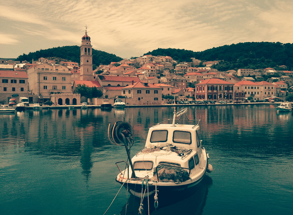 best villages in Europe: The perfectly still waters of Pucisca in Croatia. Photo by Florian Klien, Tumblr