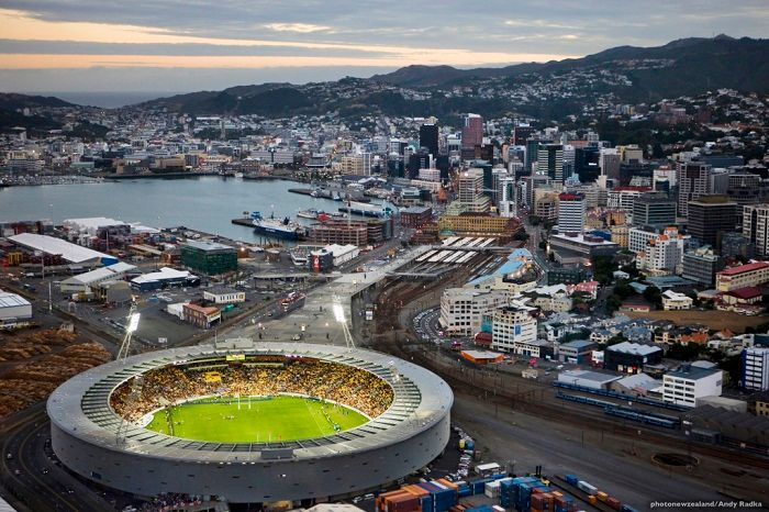 The Cake Tin Stadium. Photo by Andy Radka, photonewzealand.com