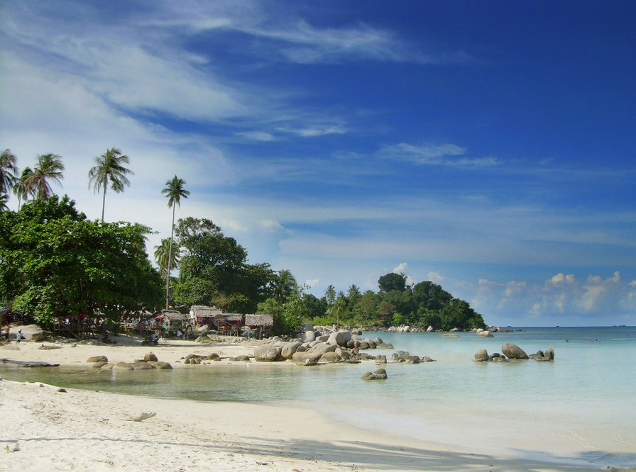 lesser known islands in south-east asia: Tricora Beach, Riau Island. Photo by riauislandsftz.org