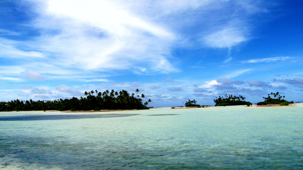 Butaritari is just one of the 33 spectacular atolls in Kiribati. Photo by KevGuy4101, Flickr