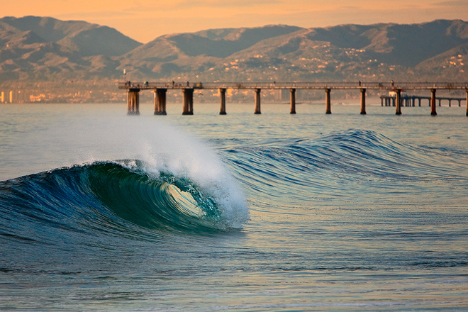 Hermosa Beach, California. Photo by wavehuggers.com