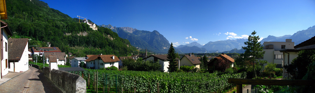 best villages in Europe: Vaduz in Liechtenstein is a uniqe village in that it is actually a capital city! Photo by Bossi, Flickr