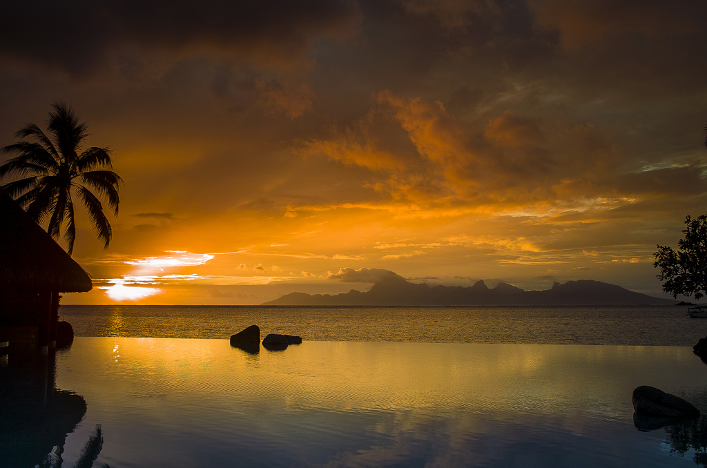 Experience the natural beauty on French Polynesias  Tahiti. Photo by Tim Moffat, Flickr