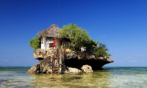 The Rock Restaurant, Zanzibar. Photo by www.therockrestaurantzanzibar.com