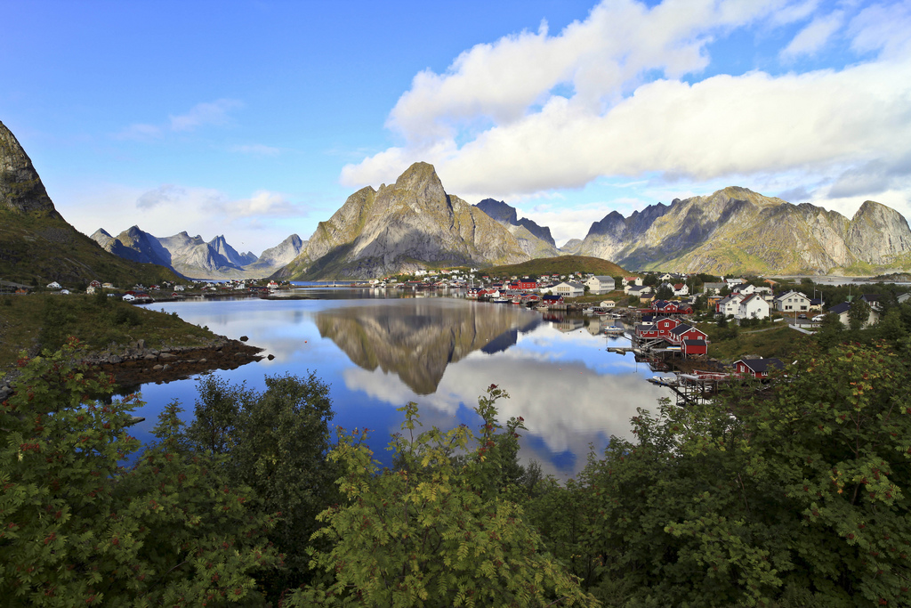 best villages in Europe: The stunning natural beauty of Reine from the mountain Reinebringen. Photo by David Wilkinson, Flickr