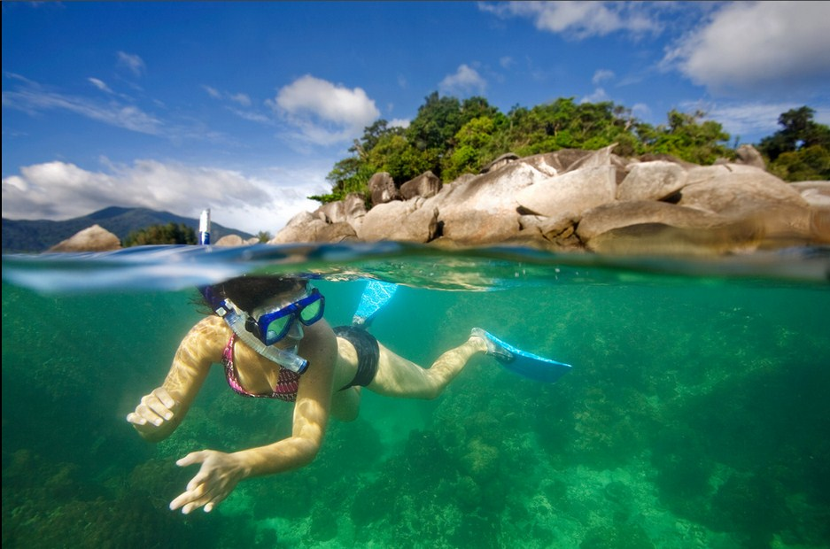 lesser known islands in south-east asia: A snorkeler enjoying the waters of Koh Lipe. Photo by James Scott, Flikr