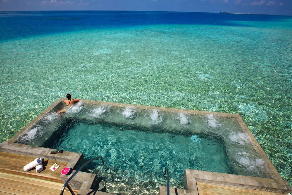 Clearest Water In The World Hand
