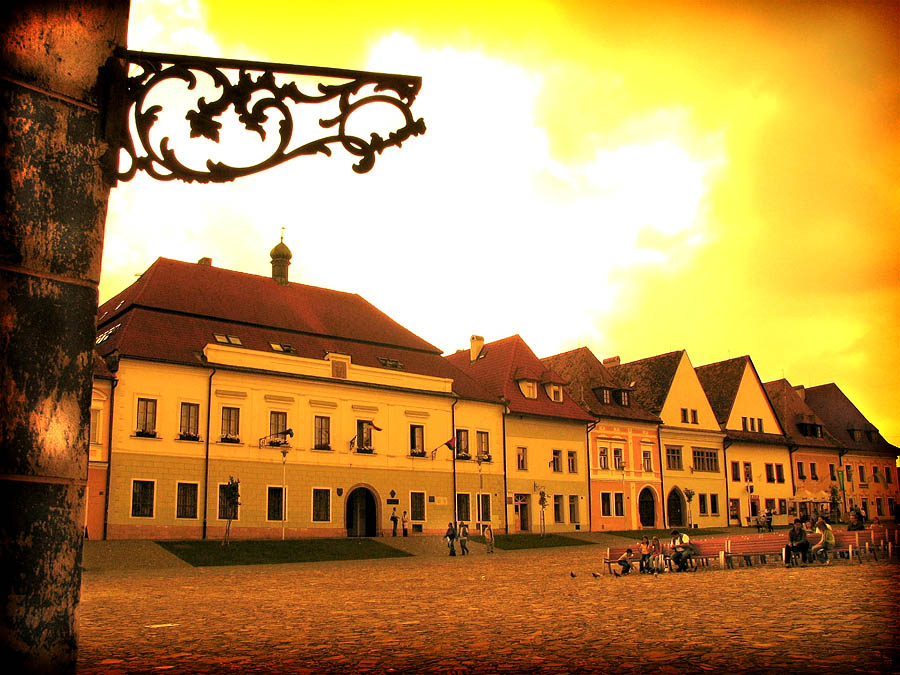 best villages in Europe: The completely intact medieval town centre of Bardejov in Slovakia. Photo by izarbeltza, Flickr