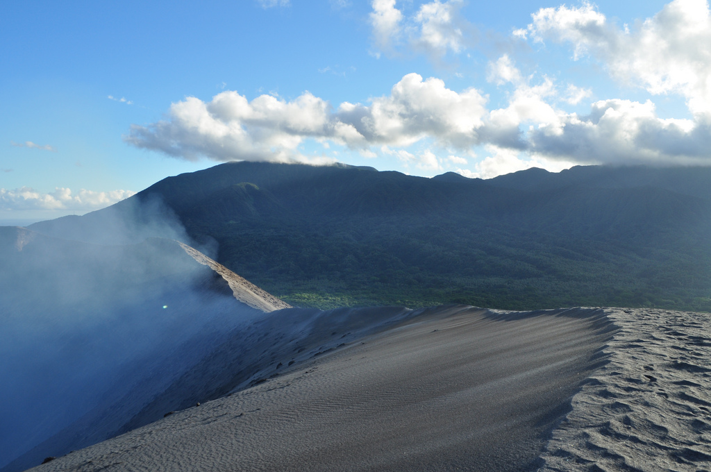 Tanna Island is one of few places where you can climb an active volcano. Photo by carawah, Flickr