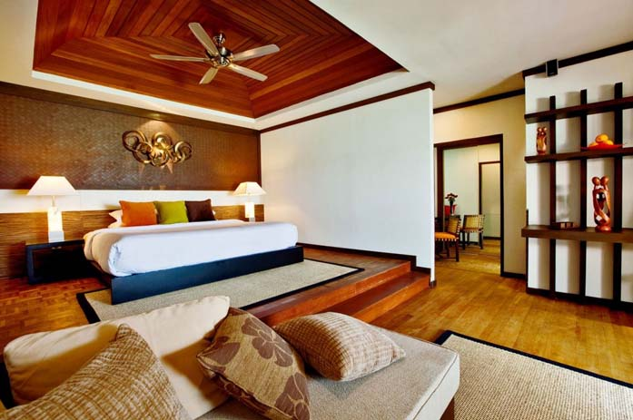 An interior shot of the rooms. Photo by homedsgn.com