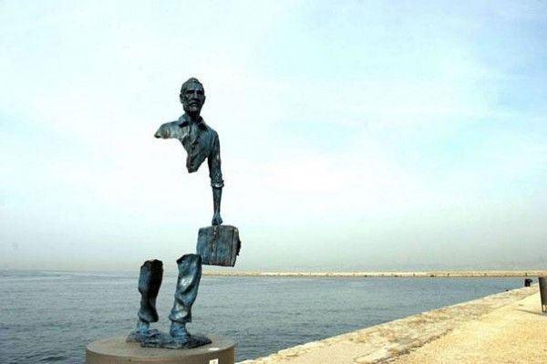 Bronze Statues in France by Bruno Catalono. Photo by Hyathiz, Pinterest