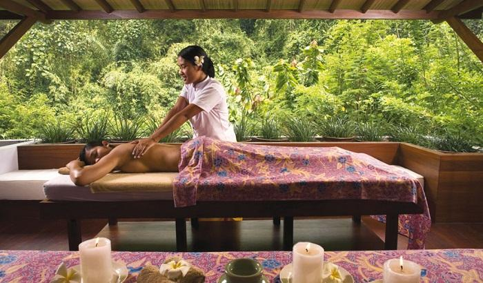Enjoy a massage or body rejuvination at the spa. Photo via fast.swide.com
