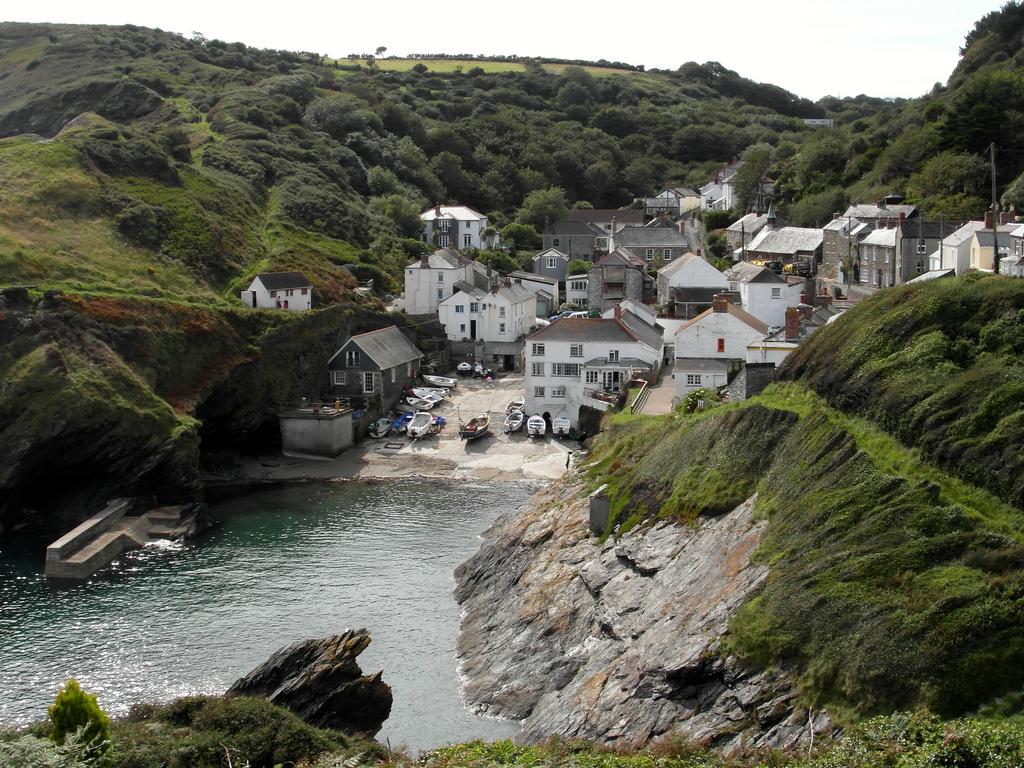 best villages in Europe: The coastal Cornish village of Portloe has a rich local history. Photo by Tom Bastin, Flickr
