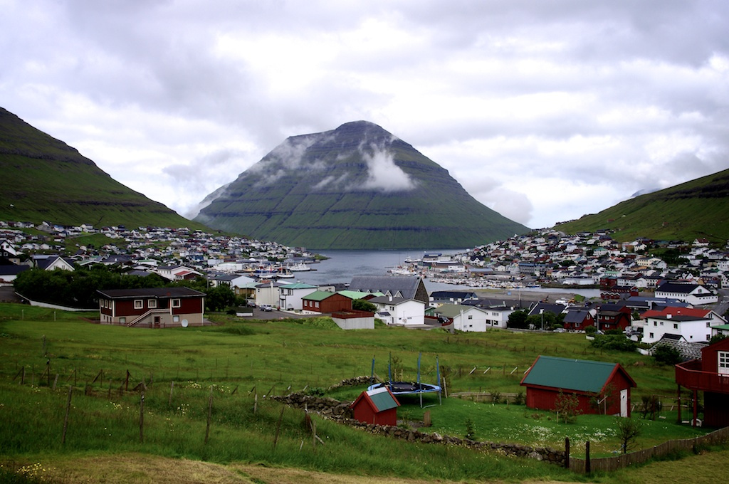 best villages in Europe: Klaksvik is one of the best locations to see the amazing scenery of the Faroe Islands. Photo by Johannes Martin
