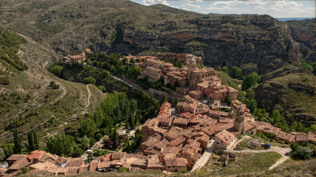 best villages in Europe:  Looking down on Albarracin in Spain from the city walls. Photo by Toni Rodrigo, Flickr