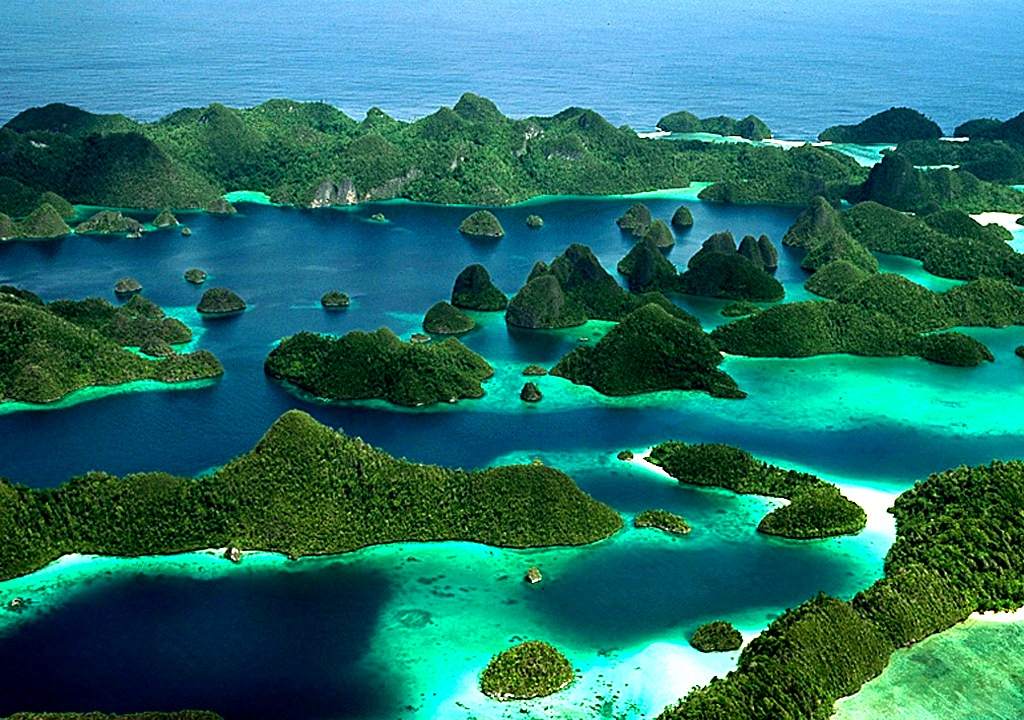 Incredible archepeligo of Raja Ampat