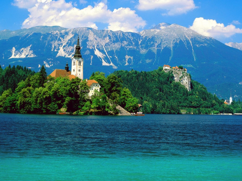 best villages in Europe: Lake Bled in Slovenia. Photo by TravelBlat