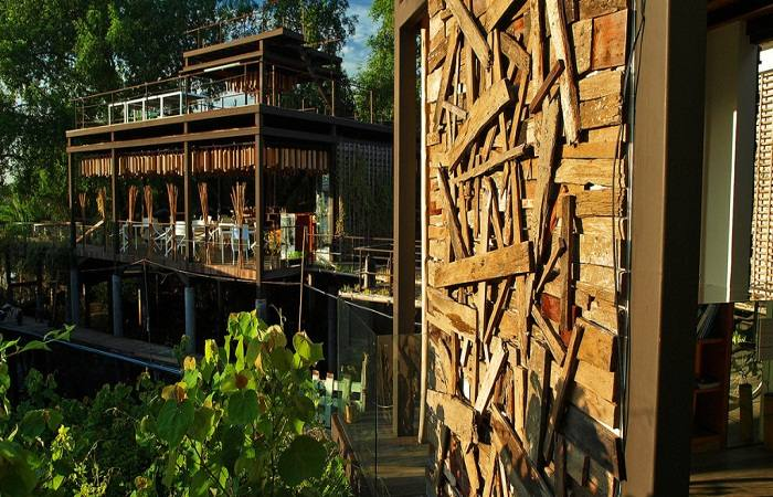 The sustainable hotel, Bangkok Tree House. Photo by saltwatercureseverything.com