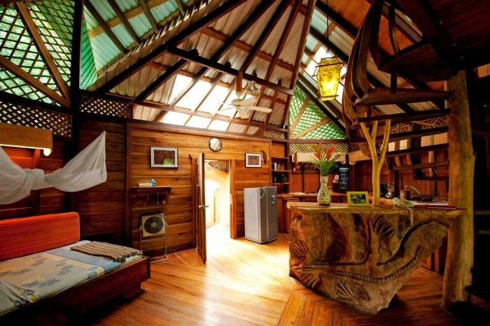 The rooms at Tree House Lodge, Costa Rica. Photo by costaricatreehouse.com