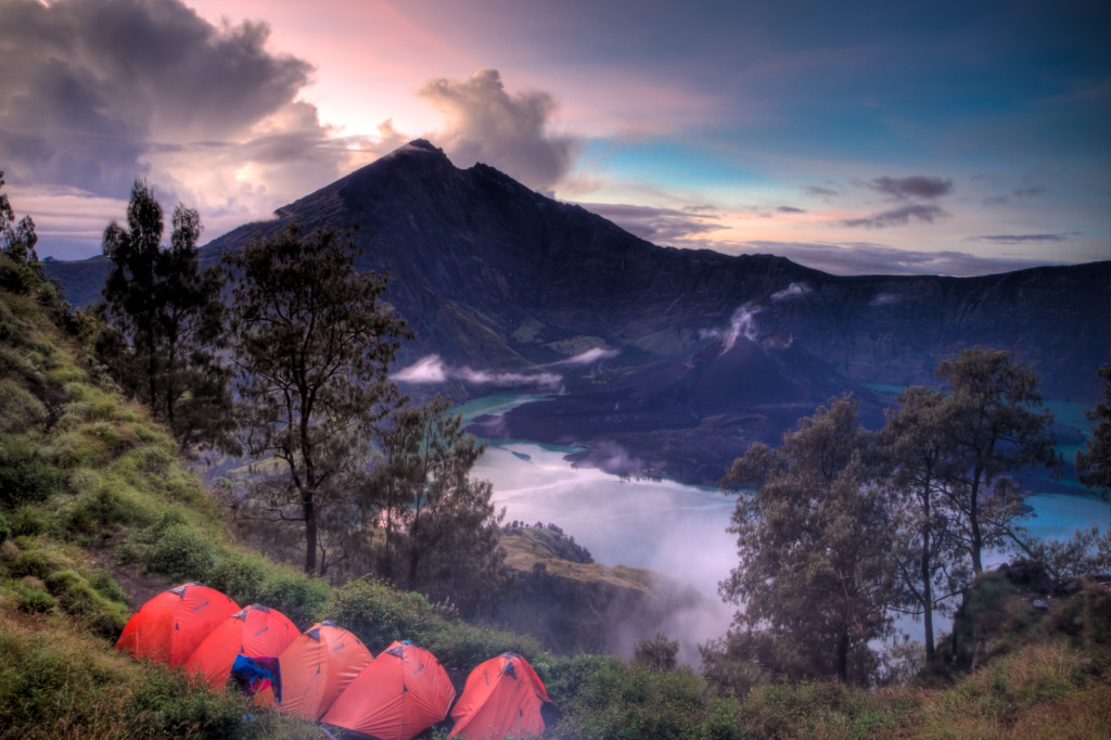 Trekking the iconic Gunung Rinjani is a must do in Lombok. photo by Tim Stelzer, Flickr