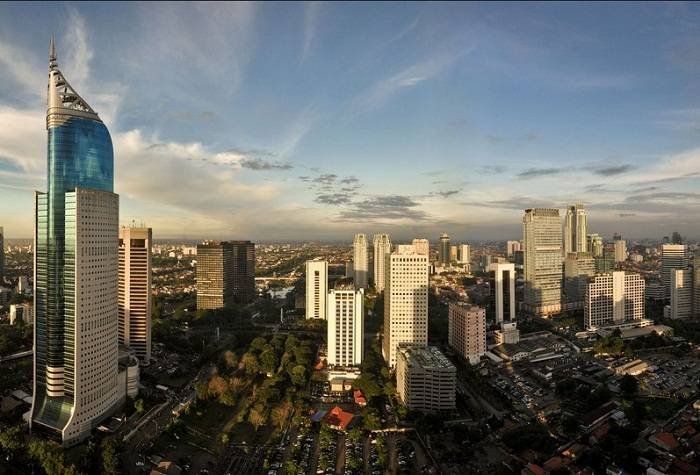 Jakarta is Indonesia's modern metropolis with a skyline to match. Photo by The Diary of a Hotel Ad
