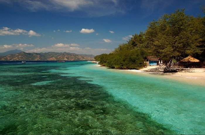 Paradise on the Gili Islands is just a stones throw away. Photo by Stefan Heinrich, flickr