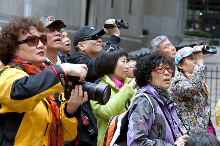 Chinese tourists are required by law not to embarrass their country. Photo by andrewsullivan.com