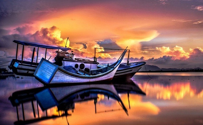 Another amazing sunrise in Banda Aceh. Photo by Muhammad Syuhada