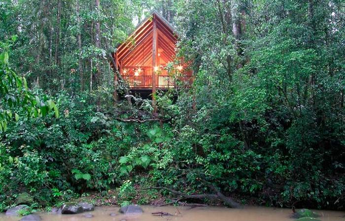 Canopy Tree Houses, Queensland, Australia. Photo by beautifulaccommodation.com