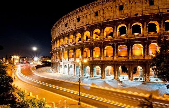 The Colosseum in Rome is the largest ampitheatre in the world. Photo by KayYen, flickr