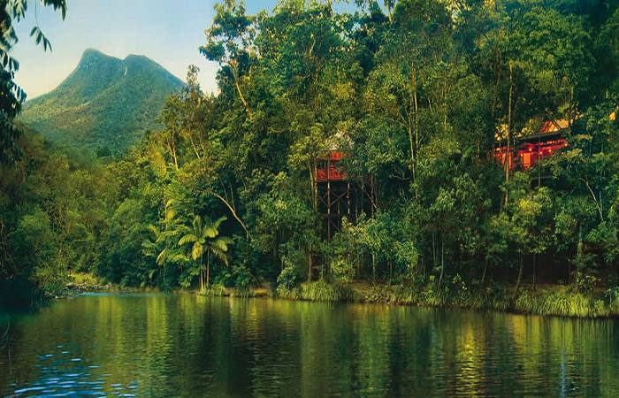 The views are fantastic at Canopy Tree Houses, Queensland, Australia. Photo by beautifulaccommodation.com
